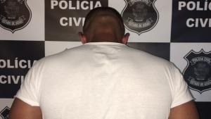 Polícia Civil prende personal trainer suspeito de abusar sexualmente de criança