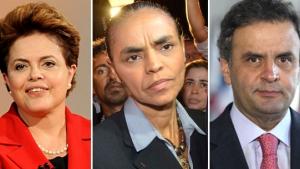Dilma tem 37% das intenções de voto, Marina, 30% e Aécio, 17%, diz Datafolha