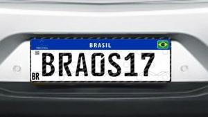 Motoristas goianos já podem trocar as placas pelo modelo Mercosul