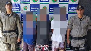 PM prende quadrilha especializada em roubo de veículos em Goiânia