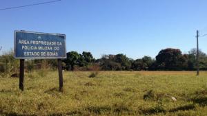 Em Goiânia, local onde deveria funcionar presídio militar está abandonado