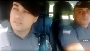 Após polêmica, policiais fazem vídeo sugerindo estupro de Fátima Bernardes