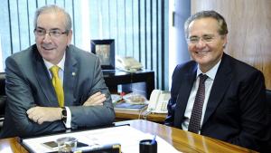 Renan e Cunha dão a pauta política do País
