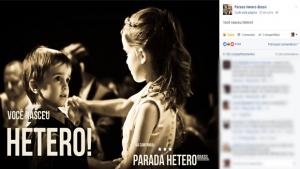 Página no Facebook vira piada após criar campanha incentivando heterossexualidade