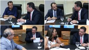 Em reunião com prefeitos, Marconi anuncia R$ 100 milhões para quitar débitos na Saúde