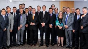 Vitti discute Reforma da Previdência em encontro com Michel Temer