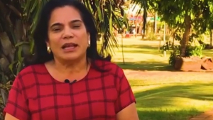 Irmã da vereadora Professora Geli morre afogada no Rio Corumbá