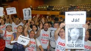 Primeira reunião entre representantes da Prefeitura de Goiânia e servidores da Educação termina sem consenso