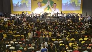 PSB oficializa candidatura de Eduardo Campos e Marina Silva