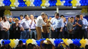"""Em Goianésia, José Eliton se apresenta como """"passo adiante com segurança e sem retrocesso"""""""