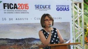 Raquel Teixeira quer games e filmes feitos com smartphones nas próximas edições do Fica