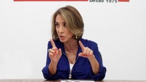 Raquel Teixeira admite que pode ser vice de José Eliton, mas diz que está satisfeita como secretária