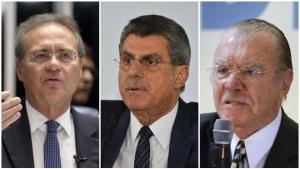 Renan Calheiros, Romero Jucá e José Sarney teriam recebido R$ 70 milhões em propina