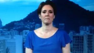 Âncora de jornal da Globo não segura emoção e vai às lágrimas por morte de garotinha