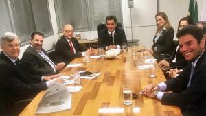 Vanderlan se reúne com PP e apresenta candidato da sigla à presidência do Senado
