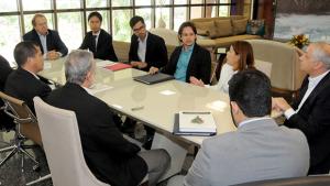 Governador e técnicos do Banco Mundial  discutem ações do PDRIS