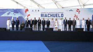 Temer e Bolsonaro participaram de lançamento do submarino Riachuelo