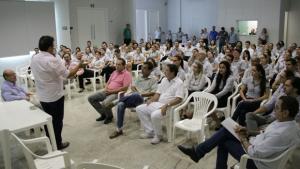 Em Anápolis, diretoria da Unimed firma compromisso com candidatura de Roberto do Órion