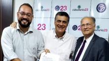 Mirando prefeitura de Goiânia, Roberto Freire e Virmondes Cruvinel acertam preparativos para disputa
