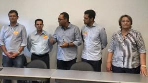 Virmondes e Rose Cruvinel oficializam apoio à candidatura de Vanderlan Cardoso
