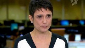 Jornalista Sandra Annenberg se emociona ao falar dos atentados em Paris