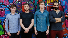 Banda Scalene apresenta em Goiânia neste final de semana