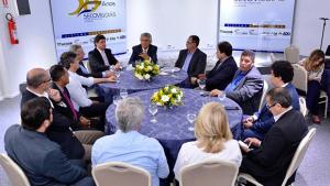 Caiado diz que dar celeridade às demandas do setor empresarial é uma de suas metas