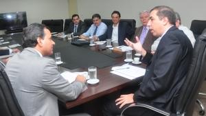 José Eliton e Igor Montenegro discutem parcerias entre Estado e Sebrae-GO