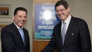 Marconi se reúne com Joaquim Levy para discutir investimentos em infraestrutura em Goiás