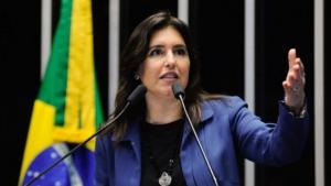 MDB pode deixar Renan de lado e lançar Simone Tebet para presidência do Senado