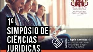 Simpósio de Ciências Jurídicas reúne autoridades em Goiânia na próxima semana