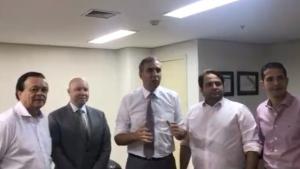 PTB oficializa apoio a Zé Eliton e confirma pré-candidatura de Demóstenes ao Senado