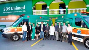 SOS Unimed reforça frota de ambulâncias em Goiânia