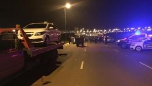 Taxistas são flagrados em atividade irregular no aeroporto de Goiânia e fogem de fiscalização