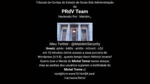 Tribunal de Contas dos Municípios de Goiás tem site invadido