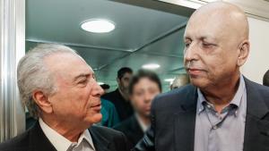 Temer sugere que câncer foi útil e deixou governador do Rio mais bonito