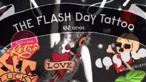 Casulo recebe edição de dois anos do The Flash Day Tatoo