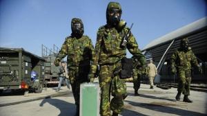 Exército terá 300 homens para atuar em caso de atentado nuclear e biológico