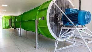 Primeiro Túnel de Vento brasileiro feito para estudos é inaugurado em Aparecida