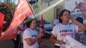 Professores da rede municipal de Bonfinópolis estão em greve