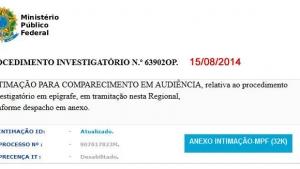 Vírus de computador é enviado por falso e-mail do MPF