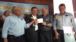Em ato nacional, 16 prefeitos de Goiás se filiam ao PSDB. Veja lista
