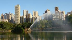 Fonte do lago do Parque Vaca Brava não tem previsão para voltar a funcionar