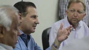"""""""Segurança não se faz à bala, mas investindo em todas as áreas"""", diz Vanderlan"""