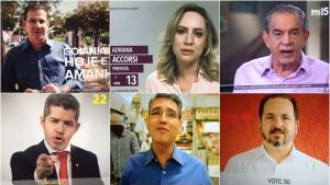 No horário eleitoral de sábado, candidatos não apresentaram novidades