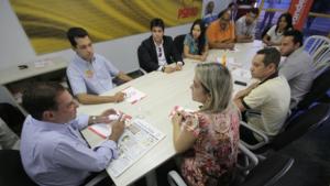 Candidatos a vereador do PT do B declaram apoio a Vanderlan