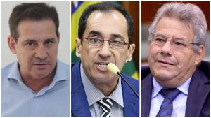 O que pensam Jorge Kajuru, Luiz Carlos do Carmo e Vanderlan Cardoso