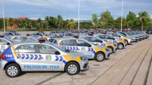 Segurança reforçada com novas viaturas à PM