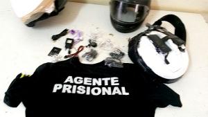 Vigilantes são presos após tentarem entrar com celulares na CPP de Aparecida de Goiânia