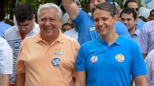 Tudo indica que Thiago Peixoto desistiu de ser vice de José Eliton. Vai para a reeleição
